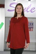 блузончик, который разрабатывался как одежка для беременных, но подходит не только им :)
