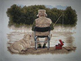 Рыбаки...