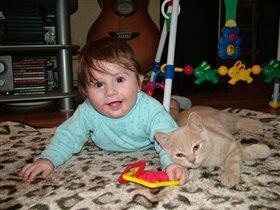 Никитёнок и котёнок