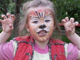 Девочка-тигр