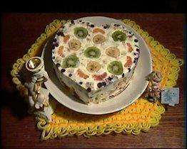 торт 'сердце'