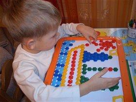 Игра с магнитной мозаикой