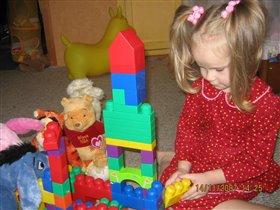 Мы строили ,строили и вот построили!:)