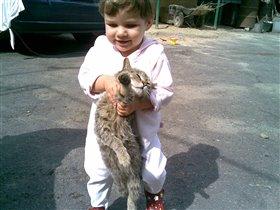 Бедный кот Лева