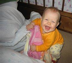 Сейчас я маме улыбнусь и она не будет ругаться за беспорядок!!!