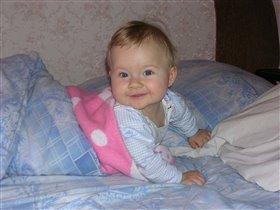 Наша дочка Викулечка.