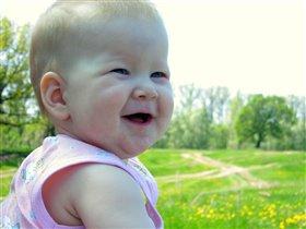 От улыбки станет мир светлей...