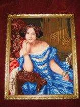 По картине Федерико де Мадрасо 'Графиня де Вильчес'