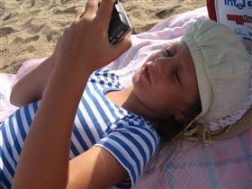 Ой лежу я на пляжу....