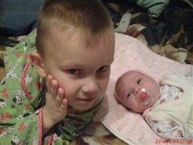 Брат - это лучший друг.