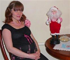 Красота беременной женщины идет изнутри...