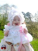 Крещеное солнышко радуется солнышку :)