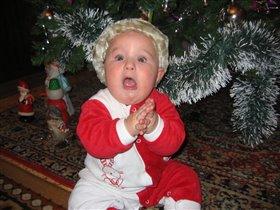 Маленький Дед Мороз.