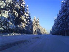 Кандалакшская зима
