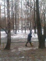 Это Московская зима