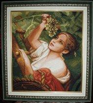 'Девушка собирающая виноград' диз. Стоянка