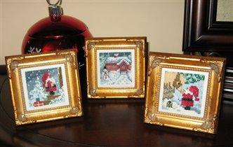 рождественские миниатюрки