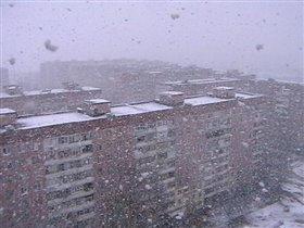 Снег кружится