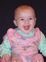 Дианочка, 3 мес. Какое счастье когда она улыбается :)))