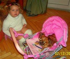 вот такой у меня малыш в шубке