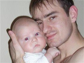 папа+сын