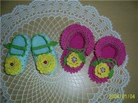 Туфельки для дочки