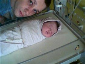 Папа помог мне родиться