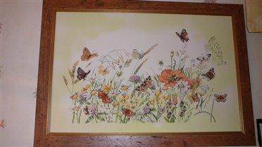 Цветы и бабочки Lanarte