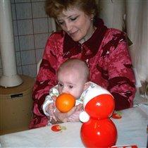 Бабушка! Дай по-про-бо-вать!