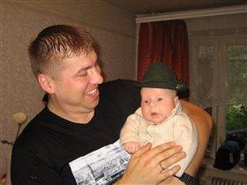 Папа! А мне идет шляпа?