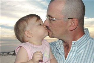 Поцелуй для папы