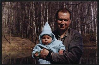 Папа с Гномиком гулял... :)