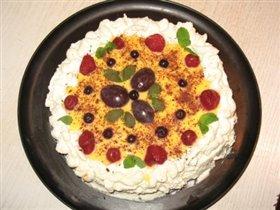 Торт с яичным ликером