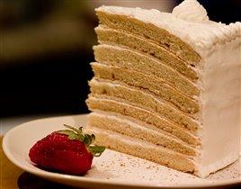 Сливочный торт