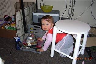 Cамые лучшие игрушки - папины!!!