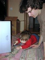 А теперь я буду программистом, а ты, дядя, учись!