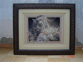 тигр белая молния