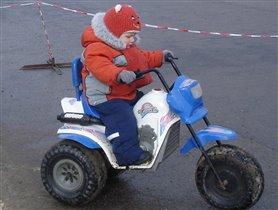 мотоциклетчик-любитель