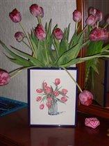 Тюльпаны и букет