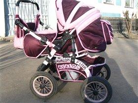 Коляска ADAMEX Pink Avalon