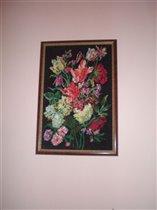 'Весенний букет цветов для любимой мамочки'