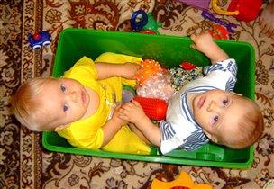 Мы играли, мы играли, все игрушки разбросали!
