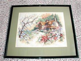 Весенний домик