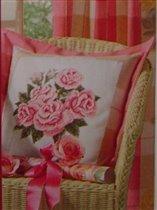 Розы на подушку