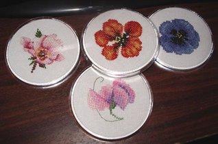 Roundcoaster Flowers - Heritage Stitchgraft