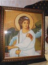 Ангел. Мозаика 15 века