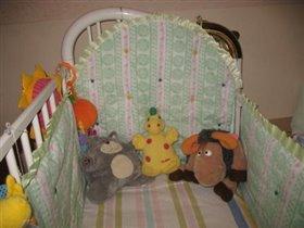 бампер на детскую кроватку2