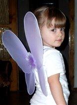 И крылышки у меня есть - ну чем ни фея!