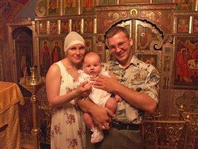 Крещение малыша!