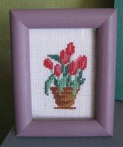 Миниатюрки: тюльпаны